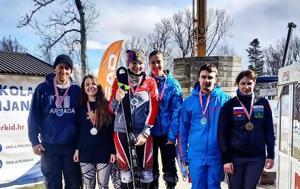 Δεύτερη, Εύα Νίκου, World Para Alpine Skiing EC, defteri, eva nikou, World Para Alpine Skiing EC