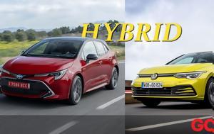 Αγορά, Υβριδικό, Golf, Corolla Hybrid, agora, yvridiko, Golf, Corolla Hybrid