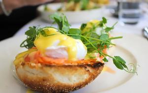 Αυγά Benedict, avga Benedict