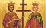 Σήμερα, Άγιοι Κωνσταντίνος, Ελένη,simera, agioi konstantinos, eleni