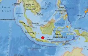 Ινδονησία, Ισχυρός σεισμός 66 Ρίχτερ, 500, indonisia, ischyros seismos 66 richter, 500