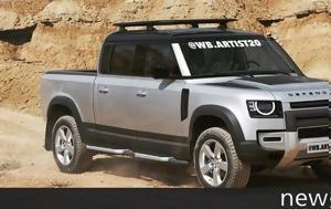 Όνειρο, Land Rover Defender Pickup, oneiro, Land Rover Defender Pickup