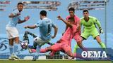 Champions League, Μάντσεστερ Σίτι-Ρεάλ Μαδρίτης, 1-1 Α΄ημίχρονο,Champions League, mantsester siti-real madritis, 1-1 a΄imichrono
