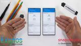 Samsung Galaxy Note 20 Ultra, Exynos,Snapdragon
