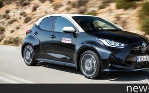 Πρώτη, Νέο Toyota Yaris 1 5, 125 PS, proti, neo Toyota Yaris 1 5, 125 PS