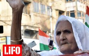 ΤΙΜΕ, Μία 82χρονη Ινδή, 100, time, mia 82chroni indi, 100
