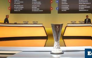 Κλήρωση Europa League, Αυτοί, ΠΑΟΚ, ΑΕΚ, klirosi Europa League, aftoi, paok, aek
