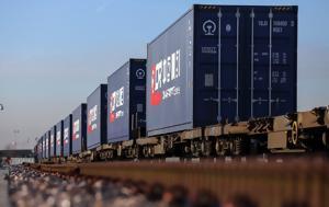 Latvia, Estonia, Rail Freight Corridor 8