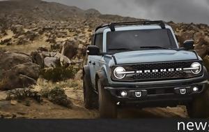 Νέο Ford Bronco, neo Ford Bronco