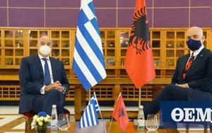 Greece, Albania, Hague