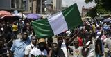 Νιγηρία, Διαδηλωτές,nigiria, diadilotes