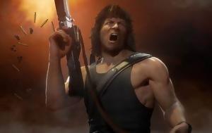 Mortal Kombat 11, Rambo, Terminator