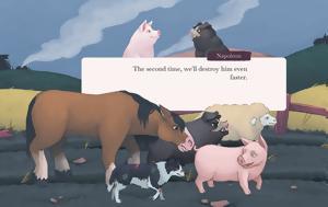 George Orwell's Animal Farm, Φάρμα, Ζώων, George Orwell's Animal Farm, farma, zoon