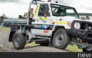 Ηλεκτρική, Toyota Land Cruiser 70 Series, ilektriki, Toyota Land Cruiser 70 Series