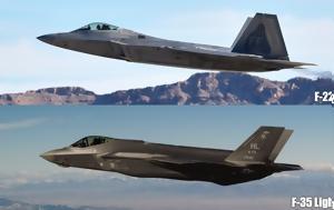 F-35, F-22 Comparison