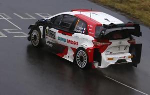 WRC, Παραμένει, Neuville, Wydaeghe, Arctic Φινλανδίας, WRC, paramenei, Neuville, Wydaeghe, Arctic finlandias