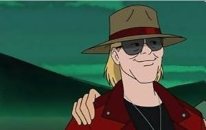 Axl Rose, Guns N' Roses, Scooby Doo
