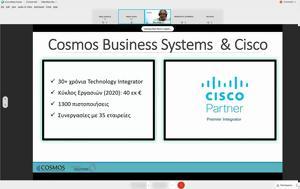 Webinar, Πολύ Meraki, Cosmos Business Systems, Cisco, Webinar, poly Meraki, Cosmos Business Systems, Cisco