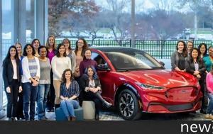 Γυναίκες, Ford Mustang Mach-E, gynaikes, Ford Mustang Mach-E