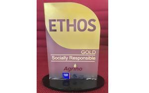 Agrino, Βραβεύτηκε, Πρότυπο ETHOS Gold, Εταιρικής Κοινωνικής Ευθύνης, Agrino, vraveftike, protypo ETHOS Gold, etairikis koinonikis efthynis
