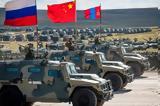 Combined China, Russian,U S