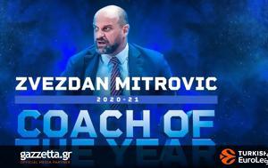 Προπονητής, Eurocup, Μίτροβιτς, proponitis, Eurocup, mitrovits