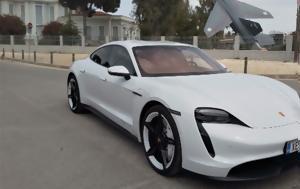 Όχι, Porsche Taycan, 571, ochi, Porsche Taycan, 571