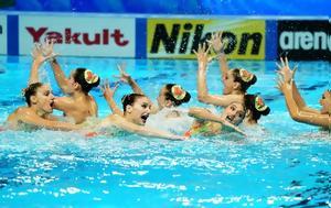Συγχρονισμένη Κολύμβηση, Ασημένιο, Ελλάδα, sygchronismeni kolymvisi, asimenio, ellada
