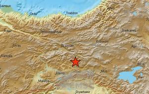 Ισχυρός σεισμός, Τουρκία, ischyros seismos, tourkia