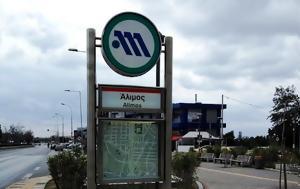 Σαν Σήμερα, Εγκαινιάζονται, Μετρό, Νότια Προάστια, san simera, egkainiazontai, metro, notia proastia