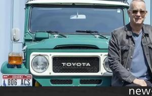 Τom Hanks, Toyota Land Cruiser FJ40, tom Hanks, Toyota Land Cruiser FJ40