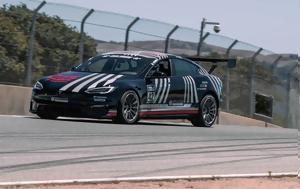 Tesla Model S Plaid, Porsche 911 GT2 RS, Laguna Seca