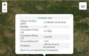 Σεισμός ΤΩΡΑ, Νευροκόπι, seismos tora, nevrokopi