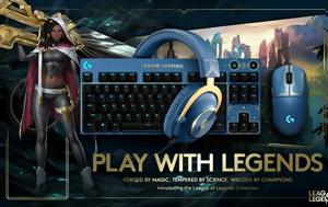 Logitech, League, Legends
