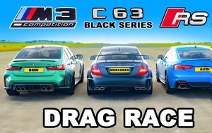 M4 Vs RS5 Vs GT-R, M3 Vs RS5 VS C63 AMG Black Series